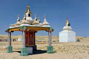 img  religion was and is everywhere (here Gobi Desert)