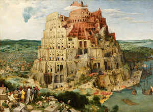 img  Tower of Babel: Megalomania rarely ends well.